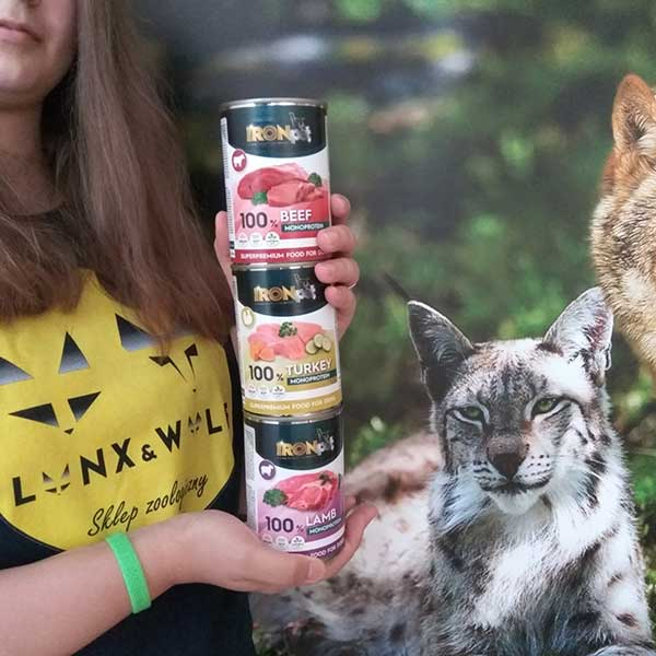 mokra karma IRONpet w lynxandwolf_pl