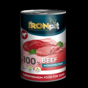 IRONpet BEEF 100% Monoprotein 800g