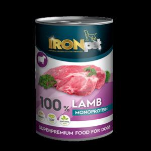IRONpet LAMB 100% monoprotein 400g