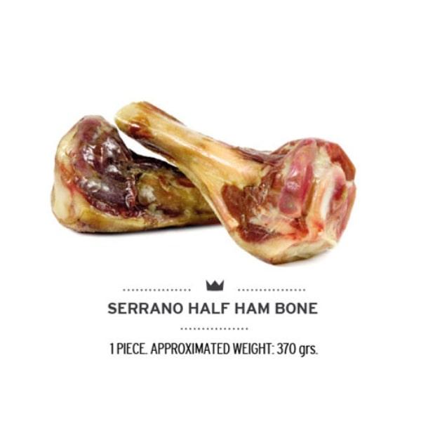 Naturalny gryzak dla psa Serrano half Ham Bone