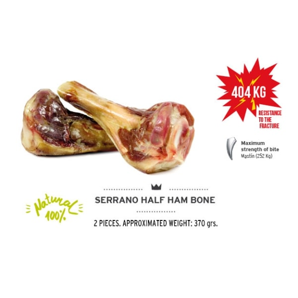 Kość dla psa Serrano half Ham Bone