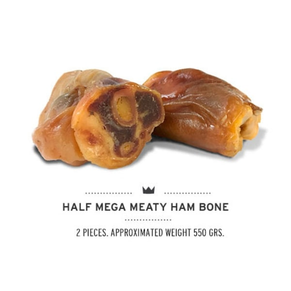 Przysmak dla psa Serrano Half Mega Meaty Ham Bones