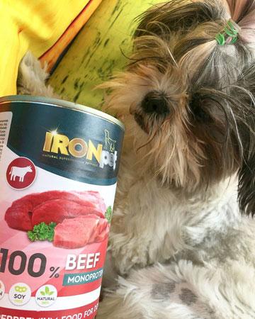Mokra karma dla psów IRONpet
