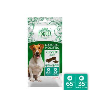 Pokusa smaczki Grain Free algi 40g Czyste zęby psa