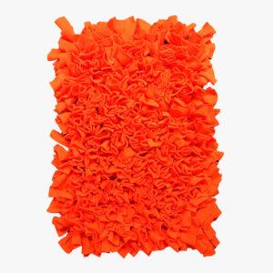 Pomarańczowa Mata węchowa dla psa i kota 50x70 cm