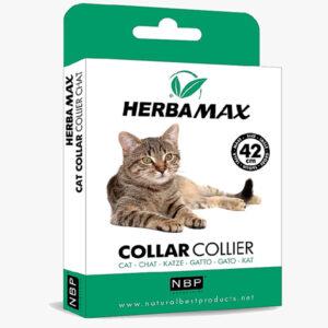 Herba Max obroża na pchły kleszcze dla kota 42 cm